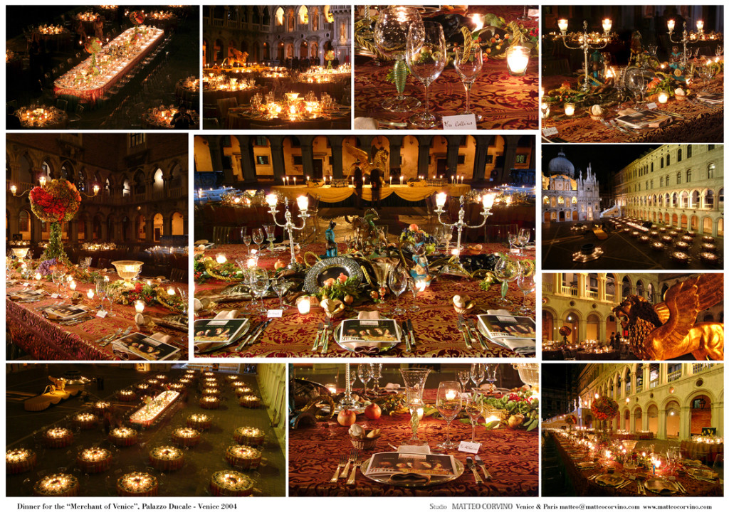 dinner_merchant_venice_palazzo_ducale_party_planning_studio_matteo_corvino_eventi_venezia
